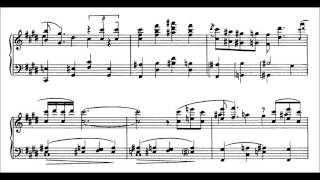 George Gershwin - Three Preludes (audio + sheet music)