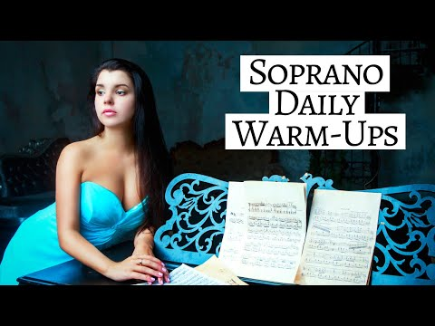 The Singer's Guide | Soprano Vocal Warm-Up Exercises 🎶