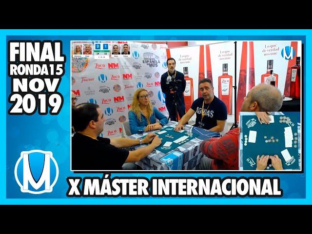 PARTIDA DE MUS - Final X Máster Internacional de Mus - Ronda 15