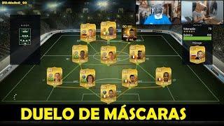 FIFA 15 | DUELO DE MÁSCARAS | DjMaRiiO vs Estrimo | Ultimate Team