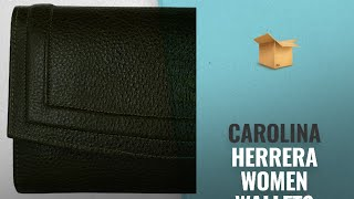 Great Carolina Herrera Women Wallets Collection [2018]: Blueice Women