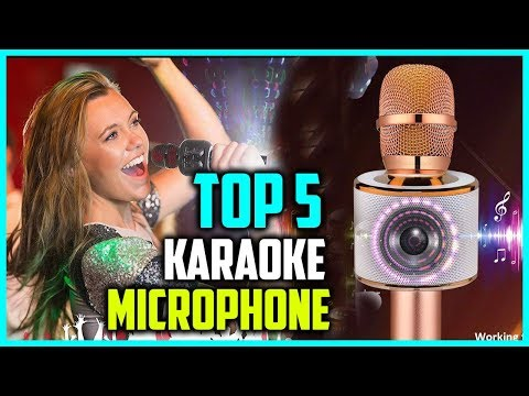 best-portable-wireless-karaoke-microphone-2018