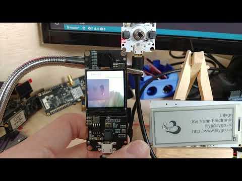 TTGO Camera Plus Test