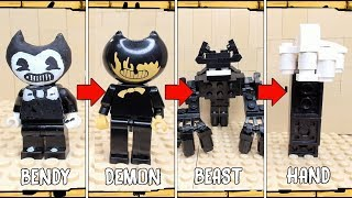 All Bendy Characters Lego Bendy and the Ink Machine Chapter 5