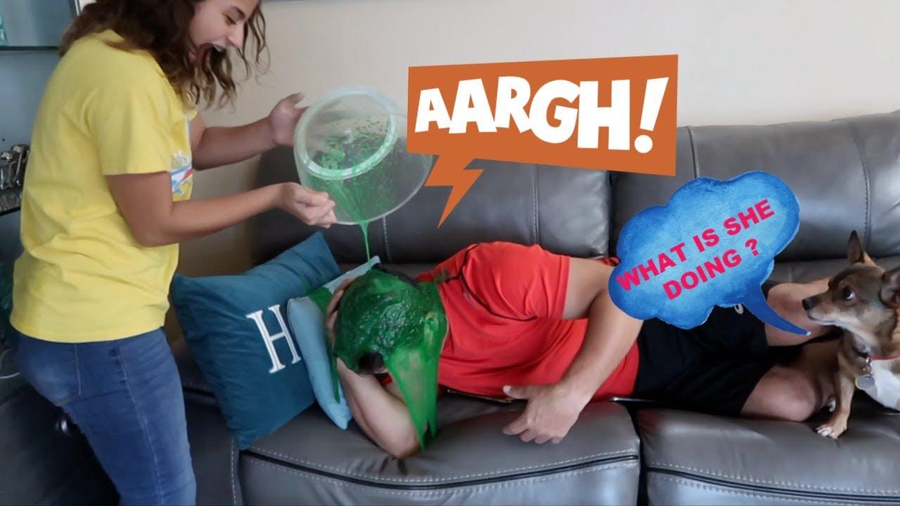 ooze-baff-slime-prank-on-my-dad-vlog-44