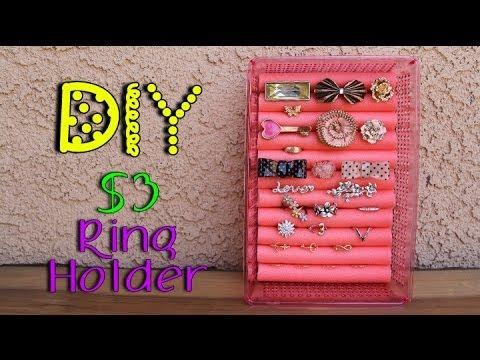Diy 3 ring holder lucykiins youtube diy 3 ring holder lucykiins solutioingenieria Images