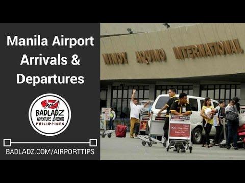 Manila Airport Arrivals & Departures