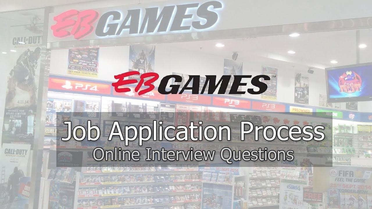 eb games online job application