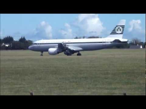 ✈ Aer Lingus Retro Jet 'Irish International' A320-214 Landing - Runway 28 Dublin | HD ✈