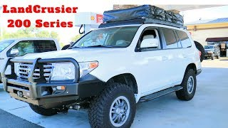 MODIFIED LANDCRUISER 200 Series OVERLAND BUILD Review