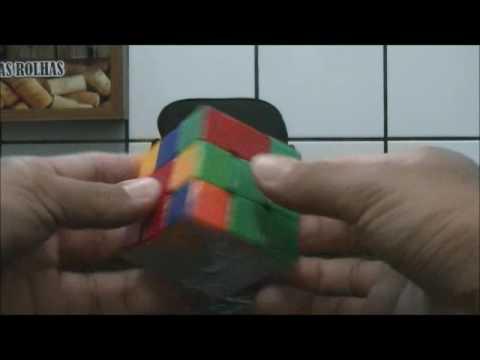 Sandro Lins - resolvendo o cubo mágico