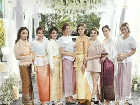 ส่องภาพ ดาราสาวในชุดไทย ร่วมงานแต่ง หญิงแย้