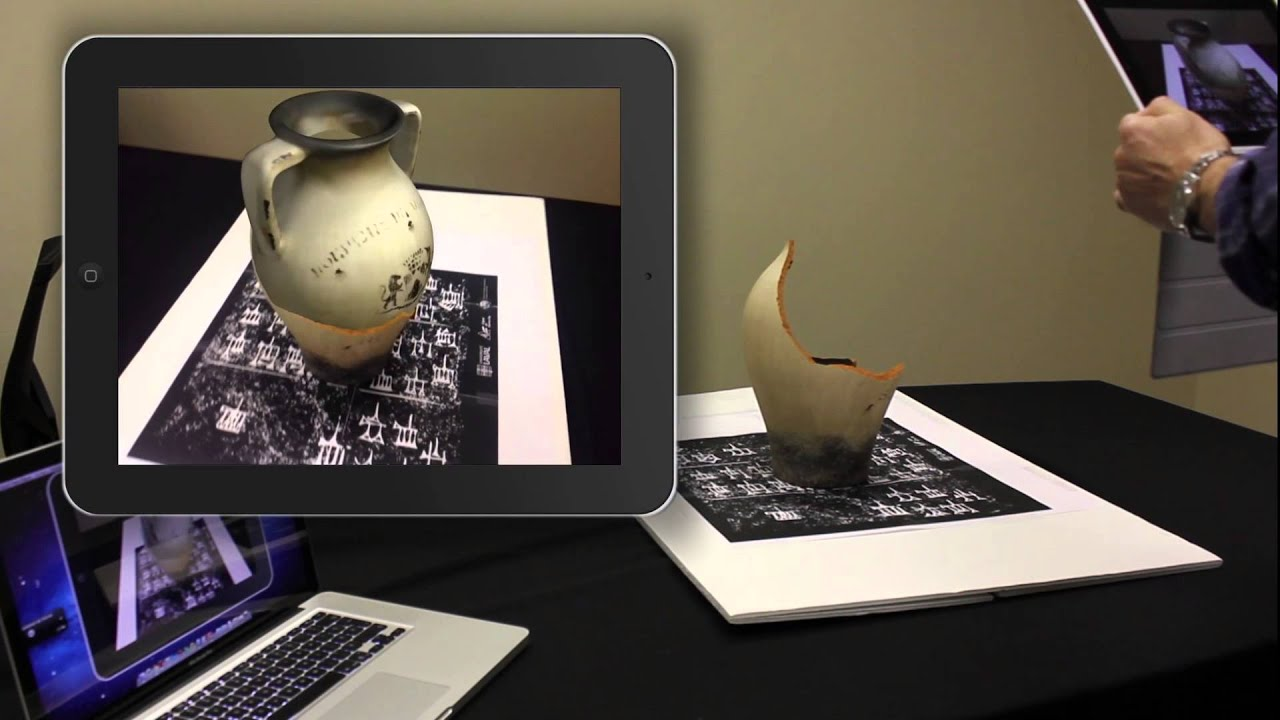 D Virtual Reality Exhibition : Augmented reality in museum feasibility of virtual