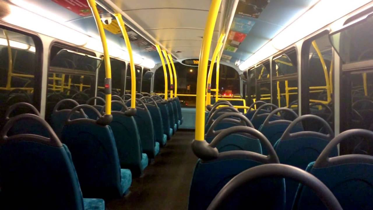 Journey After Dark On The London Bus Route 194 Youtube