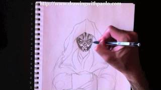 Drawing Darth Maul with Paolo Morrone