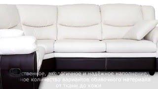 Угловой кожаный  диван(, 2016-02-09T17:06:03.000Z)