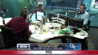 Dennis & Callahan discuss Vince Wilfork with the Herald's Ron Borges