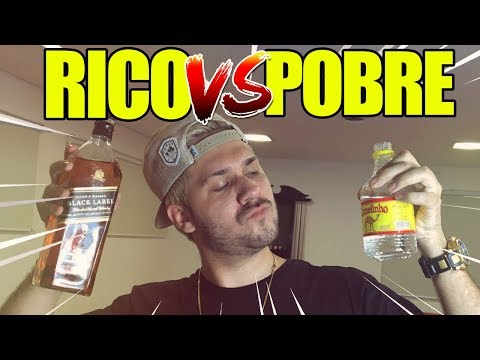 BEBIDA DE RICO VS BEBIDA DE POBRE! ‹ Matheus Kuasne ›