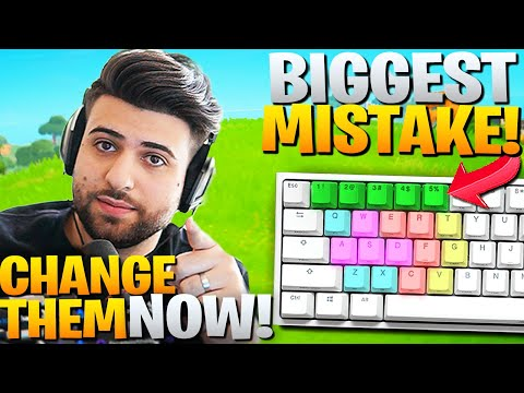 Why YOU Should Change Your Keybinds! (You're Losing Fights!) - Fortnite Battle Royale Chapter 2