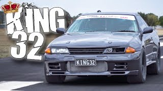 "1500HP Nissan ""KING32"" GTR Lays Down the LAW! thumbnail"