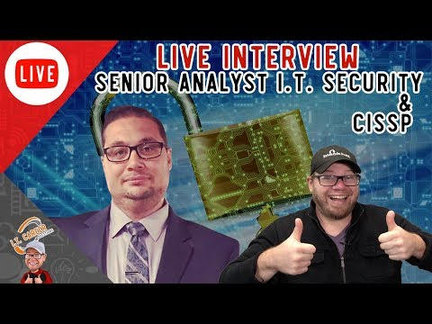Getting Into Cybersecurity with a Senior I.T. Security Analyst