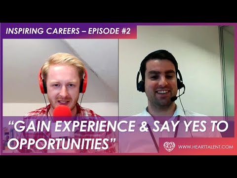 SAY YES TO OPPORTUNITIES | CLINICAL TRIAL ADMINISTRATOR | EPISODE #2 INSPIRING CAREERS
