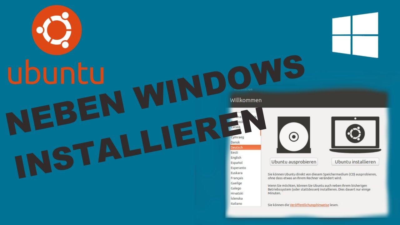 Linux Neben Windows Installieren