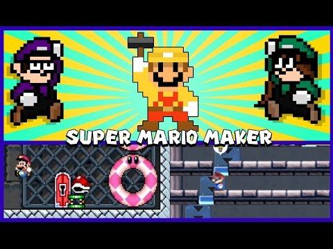 Mario Maker: A Level Made to be Played BLINDFOLDED