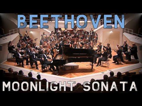 Beethoven - Moonlight Sonata   Berlin Philharmony Hall