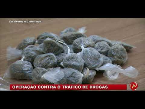 Operação contra o tráfico em Campos Gerais