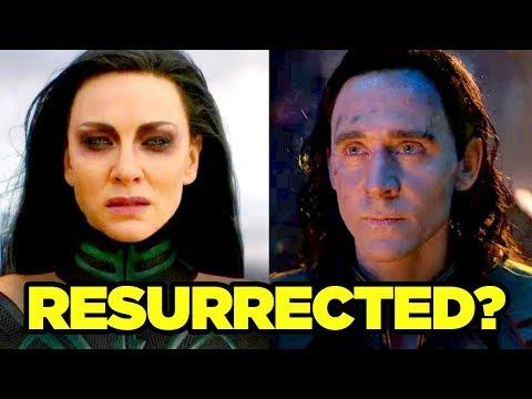 Avengers 4 HELA LOKI RESURRECTION Theory Explained!
