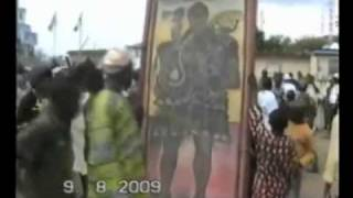 Ogun Festival at Ile-Oluji,Ondo State,Nigeria.