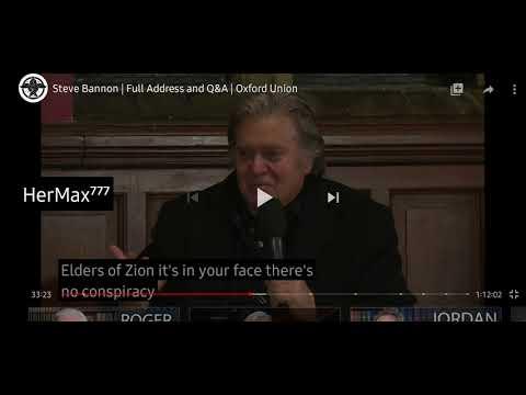 """Steve Bannon, mintiendo y ocultando el poder Jesuita, Masón e """"Illuminati"""" detrás de la él"""