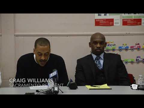 Craig Williams Press conference