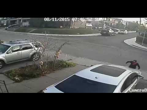 CCTV Video - Suspect Wanted for Mischief - Vehicle Keyed