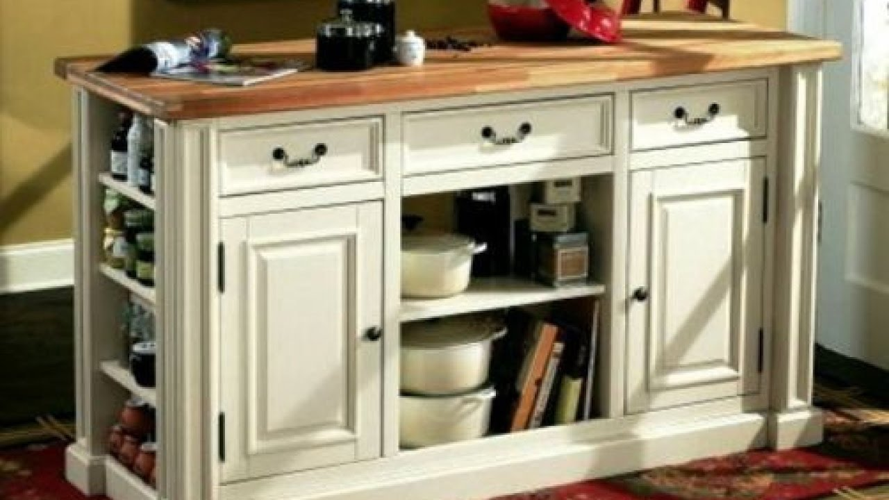 Portable Kitchen Pantry Furniture Portable Pantry Cabinets Youtube