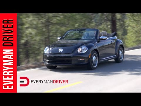Here's the 2013 Volkswagen Beetle Convertible Review on Everyman Driver