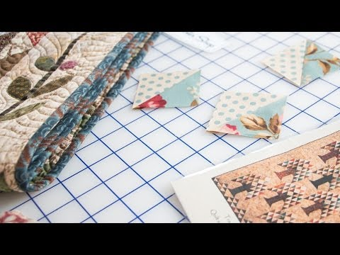 How to Make Half Square Triangles and Exchange with Friends by Edyta Sitar - Fat Quarter Shop