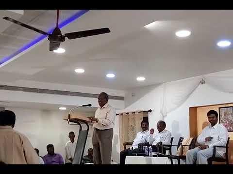 13.11.2017 Madurai College House Speech of Thiru Thirumalai Vice Chanceller (Rtd)Tanjore.