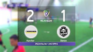 Обзор матча Karcher 2 1 Denon Турнир по мини футболу в городе Киев