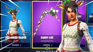 "The ""RED NOSED RAIDER"" & ""CANDY AXE"" Are BACK! 