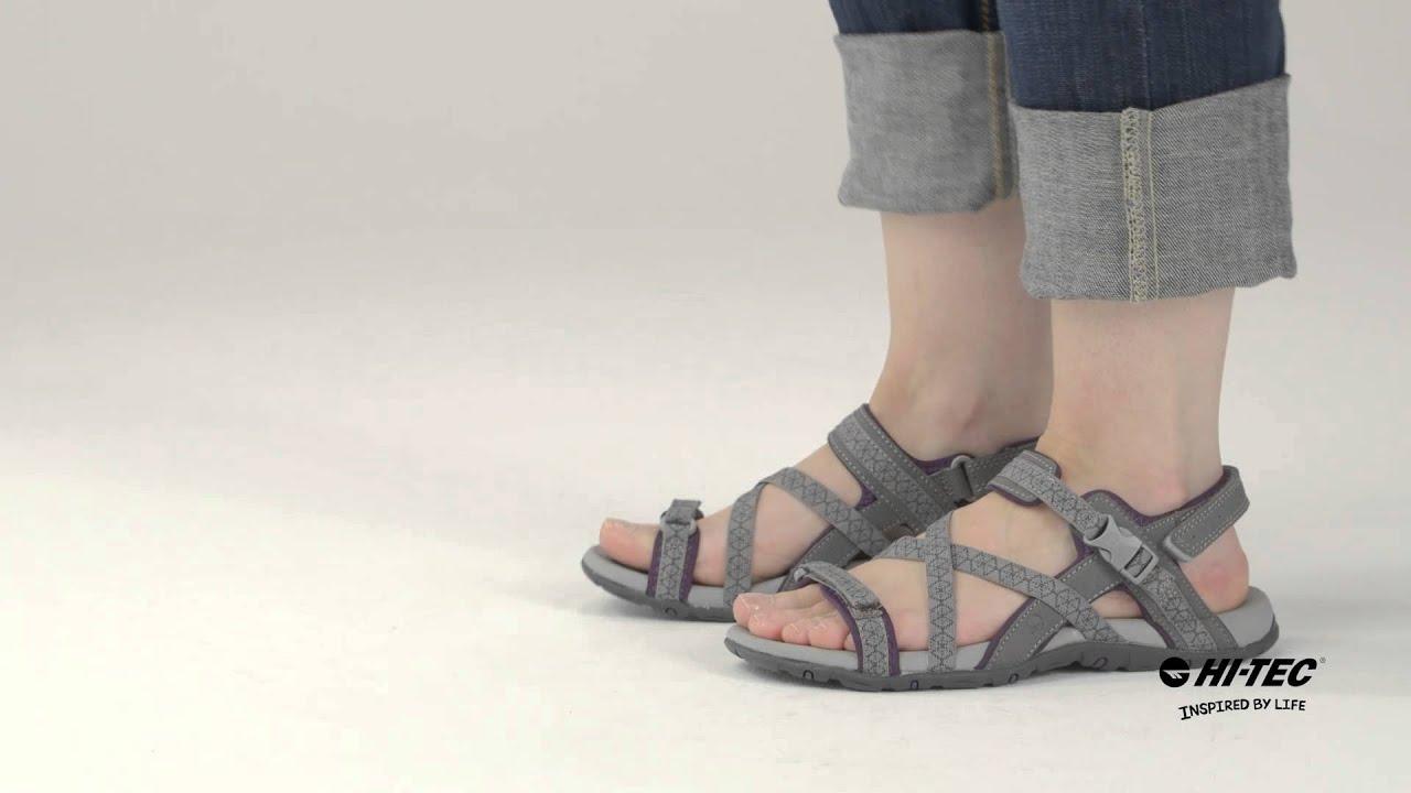 016565be0473 Premilla Strap - Premium Womens Sandals from Hi-Tec (29016) - YouTube