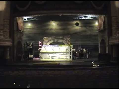 """BW's Production Crew time-lapse """"Load In"""" for Don Quixote"""