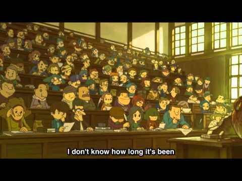 Professor Layton And The Eternal Diva 1 11 Eng Sub Youtube