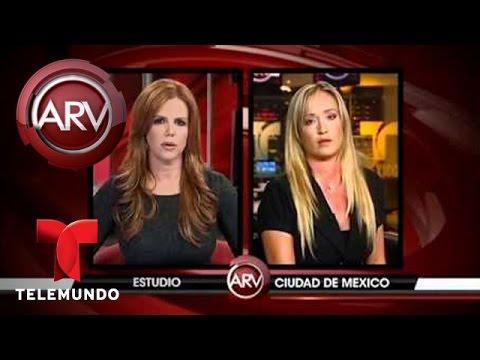 Al Rojo Vivo  | Carmen Molero se desmayó en ARV | Telemundo ARV thumbnail