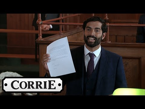 Coronation Street - Imran Tells The Judge That Sally Has Contacted A Witness
