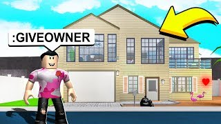 I GAVE FANS CO-OWNER ON MY BLOXBURG PLOT!! (Roblox)