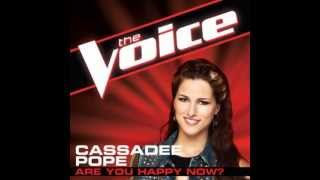 Watch Cassadee Pope Are You Happy Now video