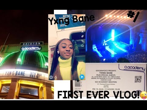 VLOG #1 - YXNG BANE CONCERT! SOLD OUT O2 BRIXTON!