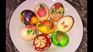 Декупаж яиц. Как украсить яйца на пасху. Как украсить яйца на пасху салфетками.
